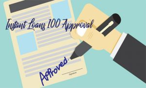 Instant Loans 100 Approval – 100 Payday Loan