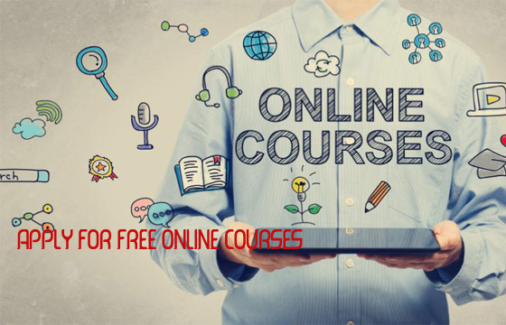 Apply for free online courses – Free Online Courses with Certificate Level Training