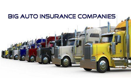 Big Auto Insurance companies