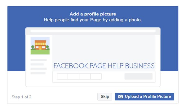 Facebook Page Help Business