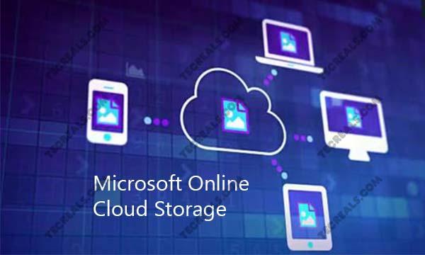 Microsoft Online Cloud Storage