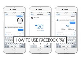 How to use Facebook Pay